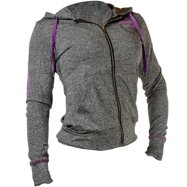 GoFit Performance Training Jacket Dame Lilla
