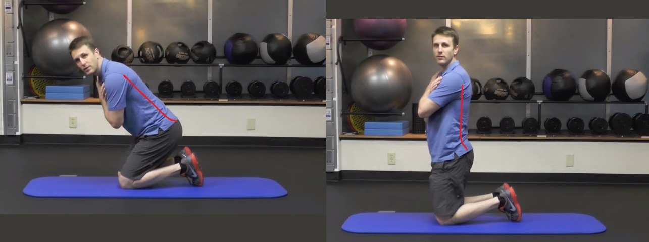 kneeling hip ext