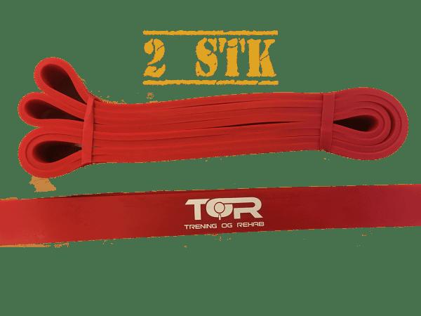 Rød Strikk 2stk